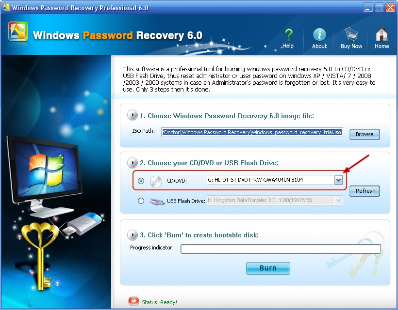 How to recover windows password with usb flash drive | How to Reset