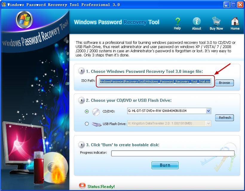 Windows Password Refixer